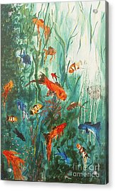 Dancing Fish Acrylic Print