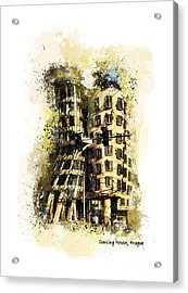 Dancing House Prague Acrylic Print