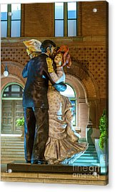 Dancing In The City Acrylic Print
