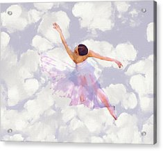 Dancing In The Clouds Acrylic Print by Steve K