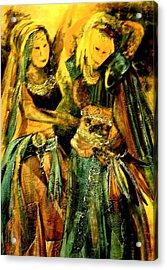 Dancing In The Harem Acrylic Print