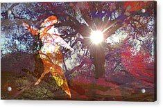 Dancing In The Park.. Acrylic Print