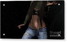 Dancing In The Rain 3 Acrylic Print