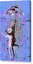 Dancing In The Rain Acrylic Print by Tony Marquez
