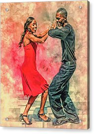 Dancing In The Street Acrylic Print
