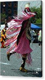 Dancing Acrylic Print by Kathleen Struckle