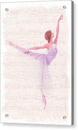 Dancing Melody Acrylic Print by Steve K