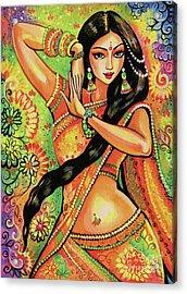 Dancing Nithya Acrylic Print