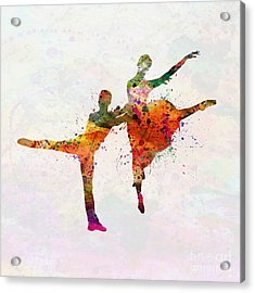 Dancing Queen Acrylic Print