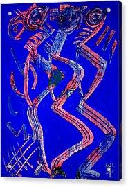 Dancing Queen Acrylic Print by Teo Santa