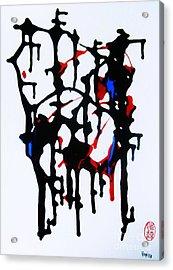 Dancing Rhythm Acrylic Print by Roberto Prusso