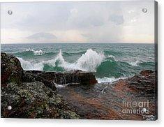 Dancing September Waves Acrylic Print