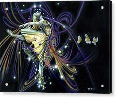 Dancing Stars Acrylic Print