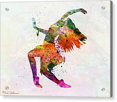 Dancing To The Night  Acrylic Print
