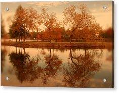 Dancing Trees - Lake Carasaljo Acrylic Print