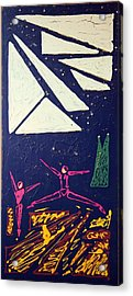 Dancing Under The Starry Skies Acrylic Print by J R Seymour