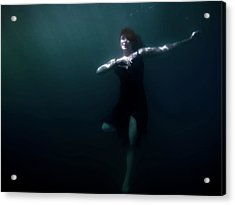 Dancing Under The Water Acrylic Print by Nicklas Gustafsson