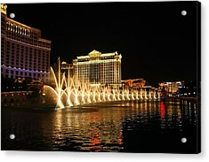 Dancing Waters Acrylic Print