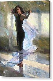 Dancing With Gossamer Acrylic Print