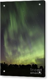 Acrylic Print featuring the photograph Dancing With The Dipper by Larry Ricker