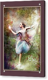 Dancing With The Light Acrylic Print