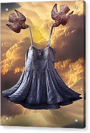 Dancing With The Stars Acrylic Print by Larry Butterworth