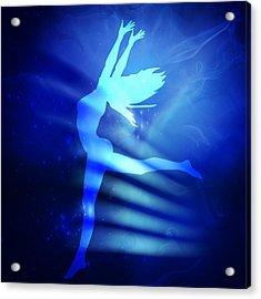 Dancing Woman Acrylic Print by Serena King
