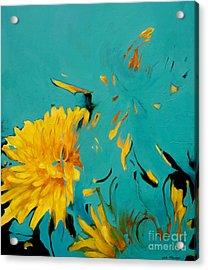 Dandelion Summer Acrylic Print