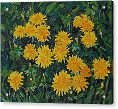 Dandy Bouquet Acrylic Print