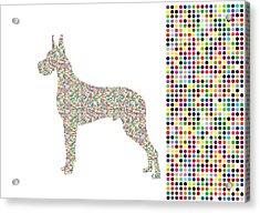 Dane Dots Acrylic Print
