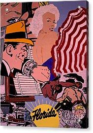 Danger Lurks Acrylic Print by Ralph LeCompte