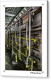 Acrylic Print featuring the photograph Danger by R Thomas Berner
