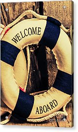 Dangers From Nautical Old Acrylic Print by Jorgo Photography - Wall Art Gallery