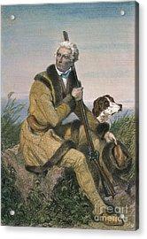 Daniel Boone (1734-1820) Acrylic Print by Granger