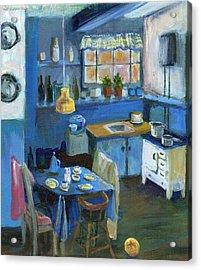 Danish Kitchen Acrylic Print