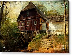 Danish Watermill Anno 1600 Acrylic Print