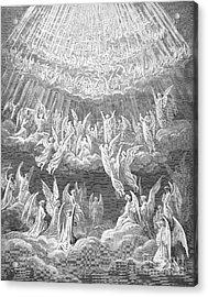 Dante: Paradise Acrylic Print by Granger