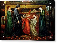 Dante's Dream  Acrylic Print