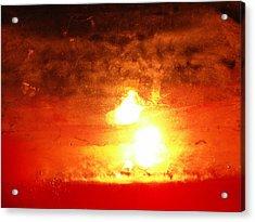 Dante's Inferno Photos Thirteen  Acrylic Print