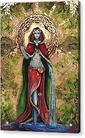 Danu Great Celtic Mother Goddess  Acrylic Print