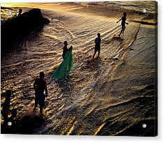 Danza Del Mar Acrylic Print