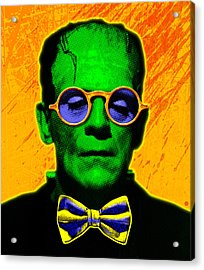 Dapper Monster Acrylic Print by Gary Grayson