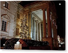 Dar Memorial Continental Hall Acrylic Print by Suzanne Stout