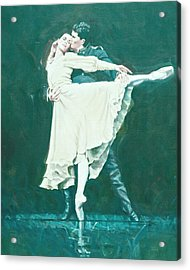 Darcey Bussell Farewell Winter Dreams Acrylic Print by Charles Willmott