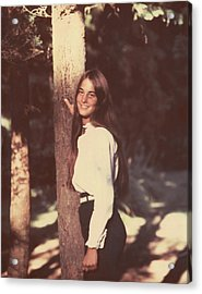 Darcey Tree Acrylic Print by Arthur Fix