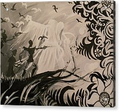Dark And Light Acrylic Print by Lisa Leeman