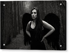 Acrylic Print featuring the photograph Dark Angel by Brian Hughes