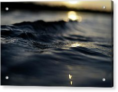 Acrylic Print featuring the photograph Dark Atlantic Traces by Laura Fasulo