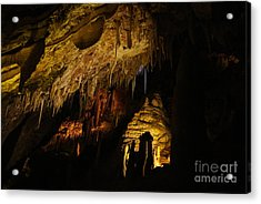 Dark Cave Acrylic Print by Oscar Moreno