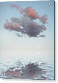 Dark Cloud Acrylic Print by Jerry McElroy